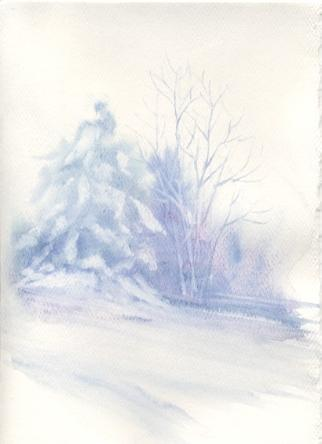 Susie Short S Watercolor Christmas Card Ideas For Painting Cards